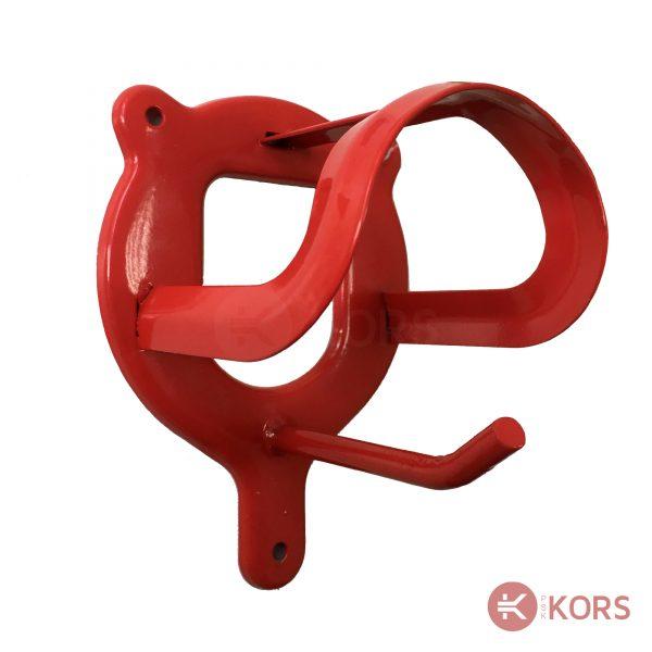 Кронштейн для уздечки красный Kerbl
